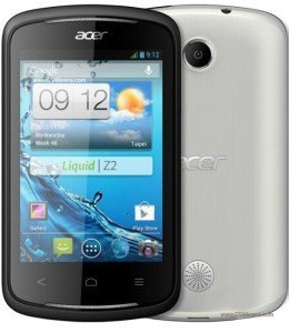 Reset Android on the Acer Liquid Z2